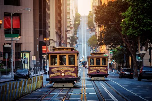 San-Francisco-trolley-california-st