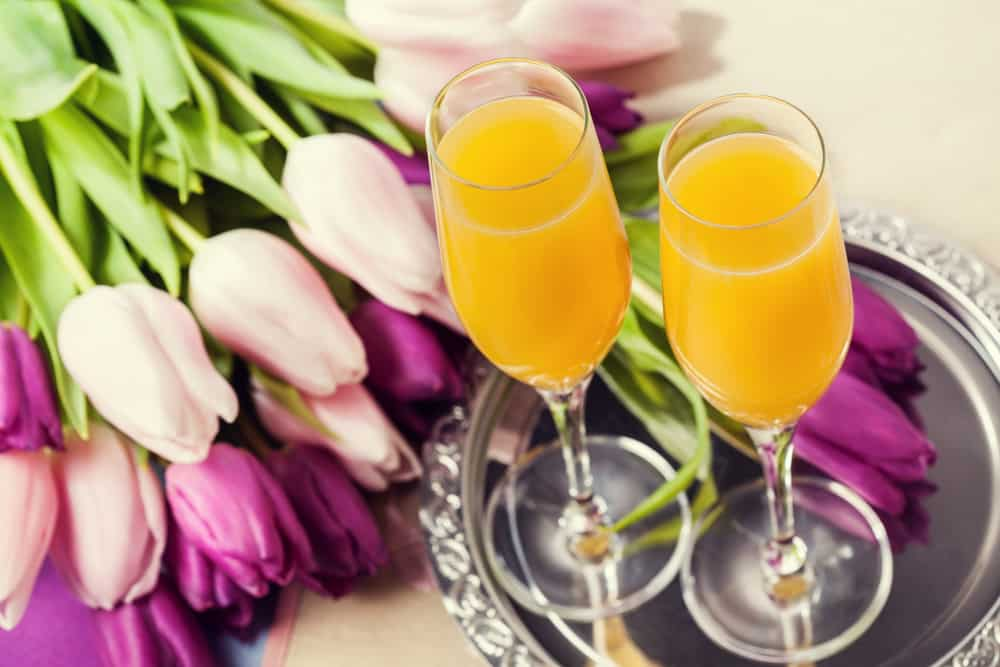 two-mimosas-with-tulips