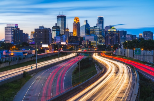 minneapolis-light-trails-dusk-sunset