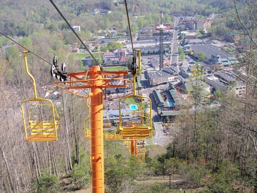 chair-lift-gatlinburg-spring-break