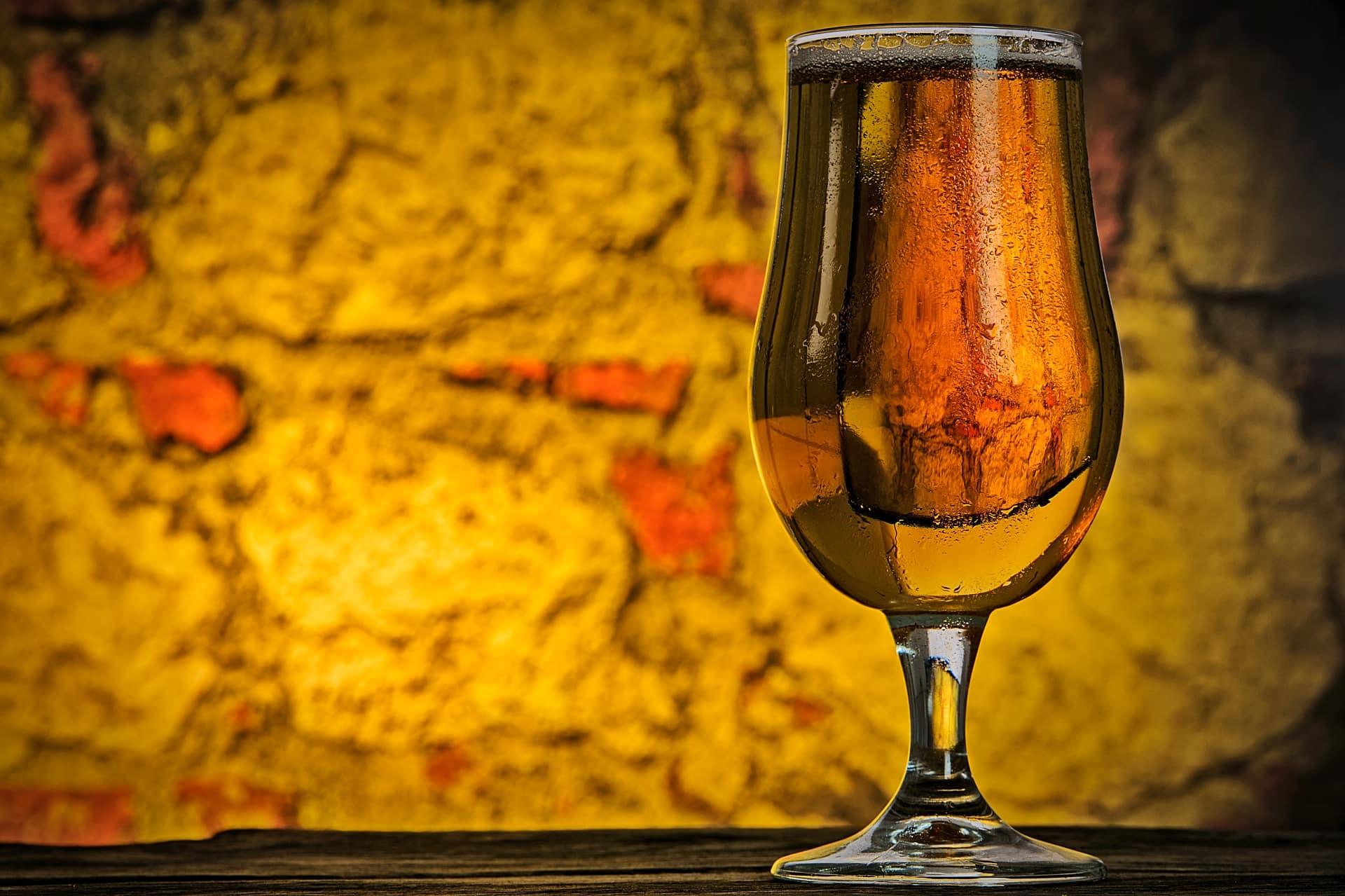Beer, a pint, vintage