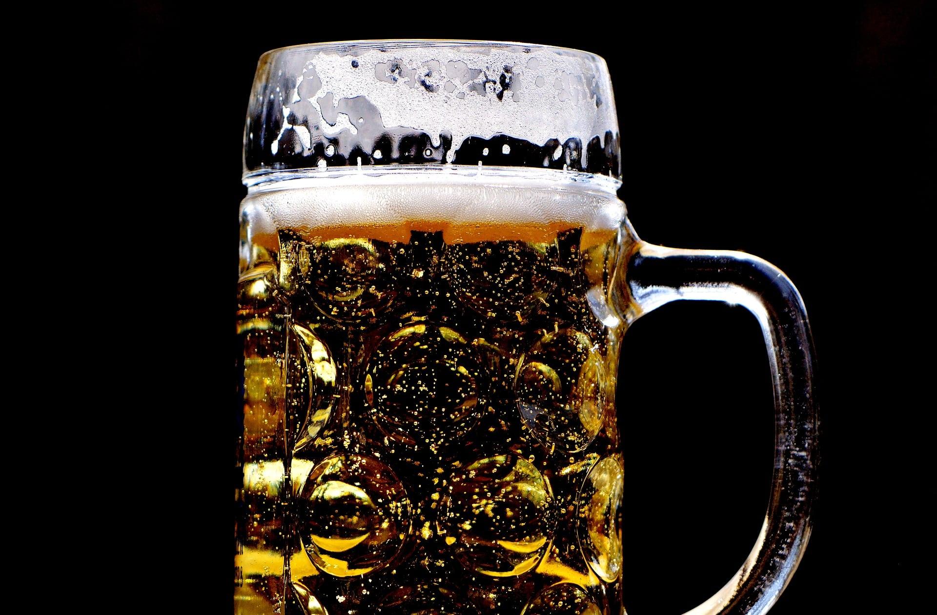 Beer, beer garden, thirst