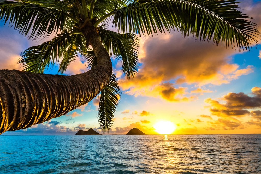 lanikai-beach-sunset