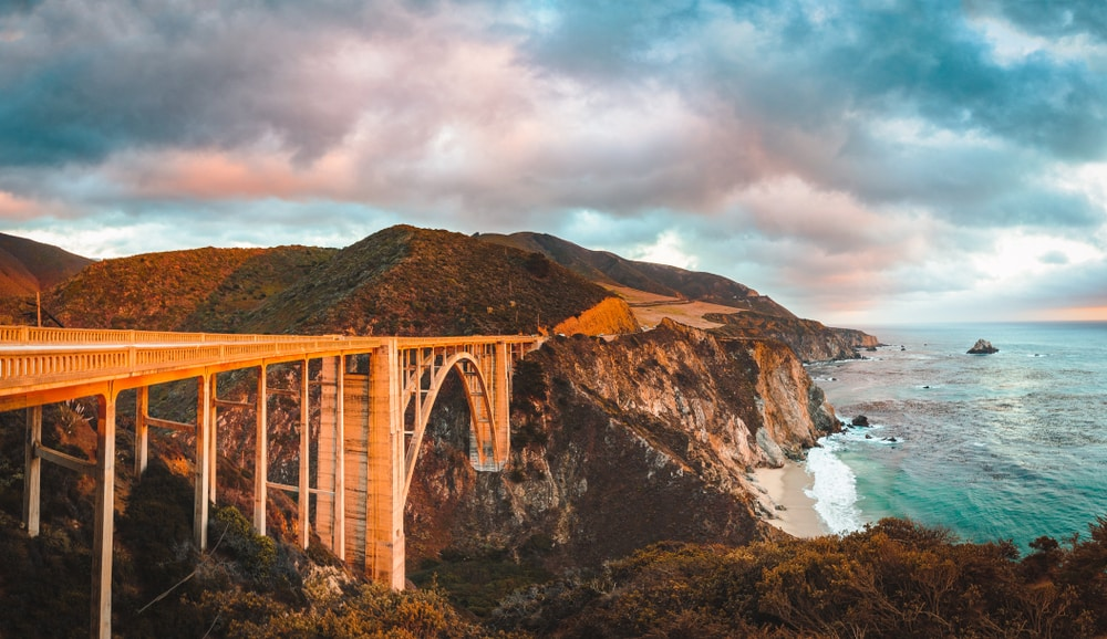 bixby-bridge-big-sur-sunset