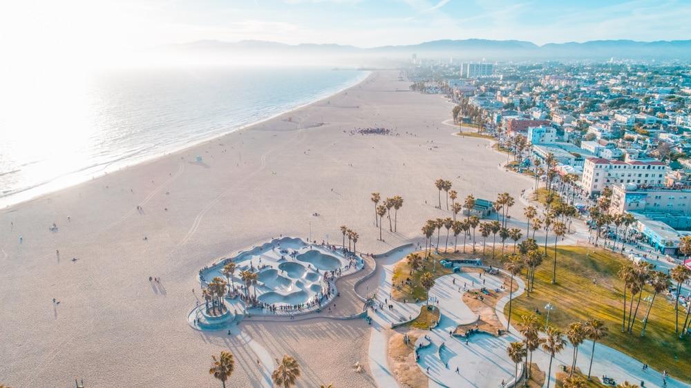 venice-beach-aerial-view