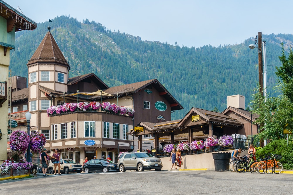 bavarian-architecture-in-leavenworth-washington