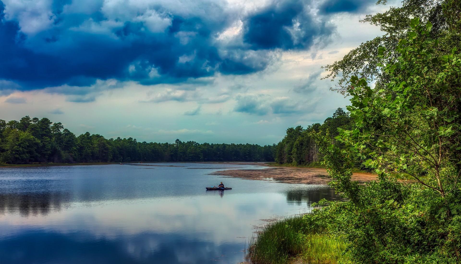 Basto lake, pine barrens, new jersey