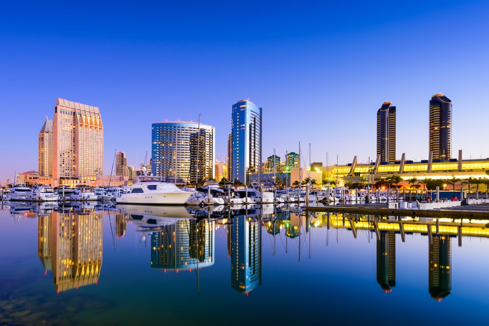 san-diego-skyline-reflection