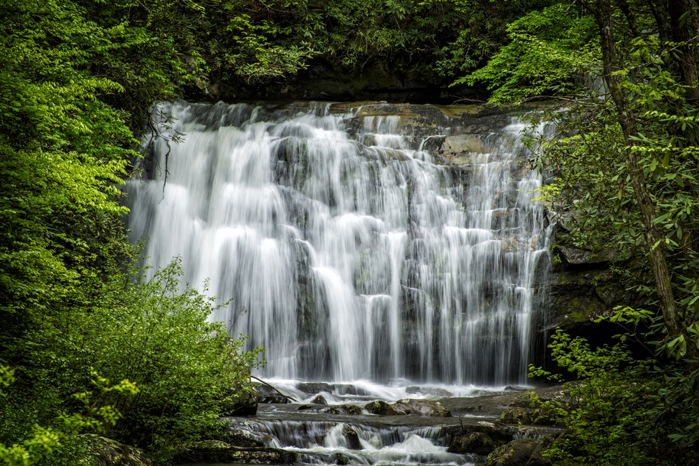 waterfall-at-great-smoky-mountains