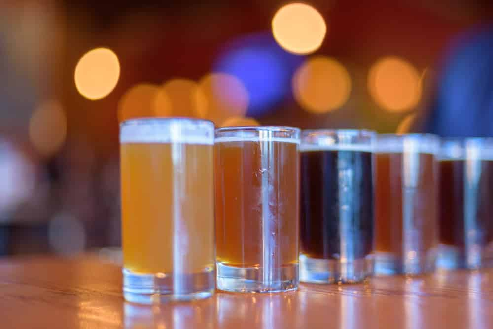 beer-flight-bokeh