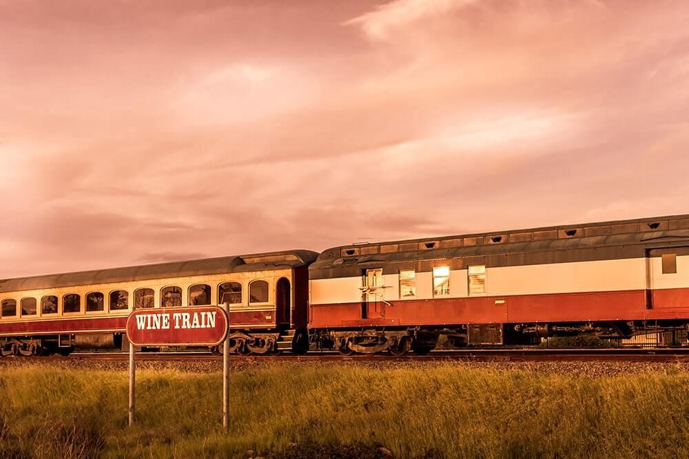 napa-valley-wine-train-at-sunset