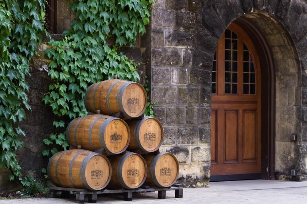 wine-barrels-in-napa