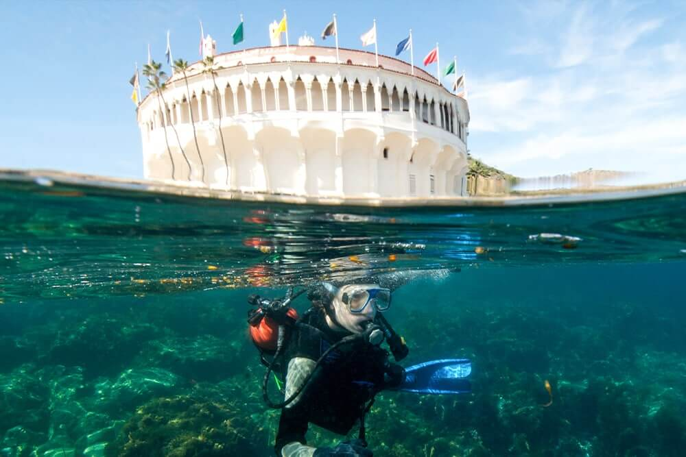 scuba-diver-by-catalina-island-casino