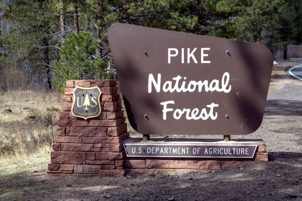pike-national-forest-sign