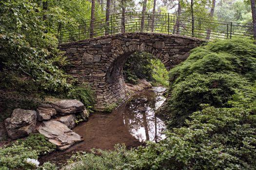 stone-bridge-in-outdoor-garden